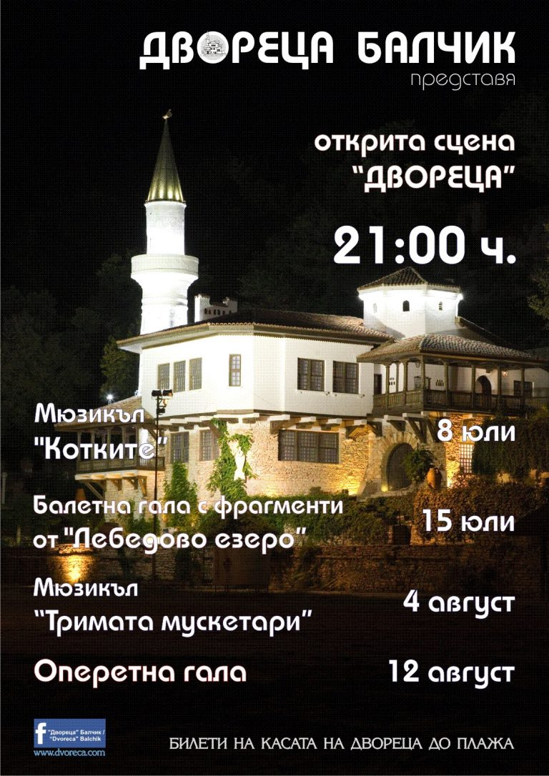 Програма: Открита сцена Двореца – Балчик